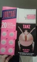 Das Festival Tanzplattform Deutschland hat das Cover des Frankfurt Journals bekommen