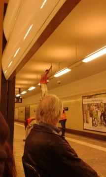 U-Bahnstation Besserungsarbeiten, Berlin