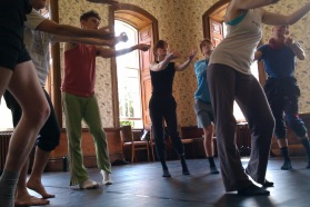 Impermance Dance Theatre at work in Kings Western House, Bristol