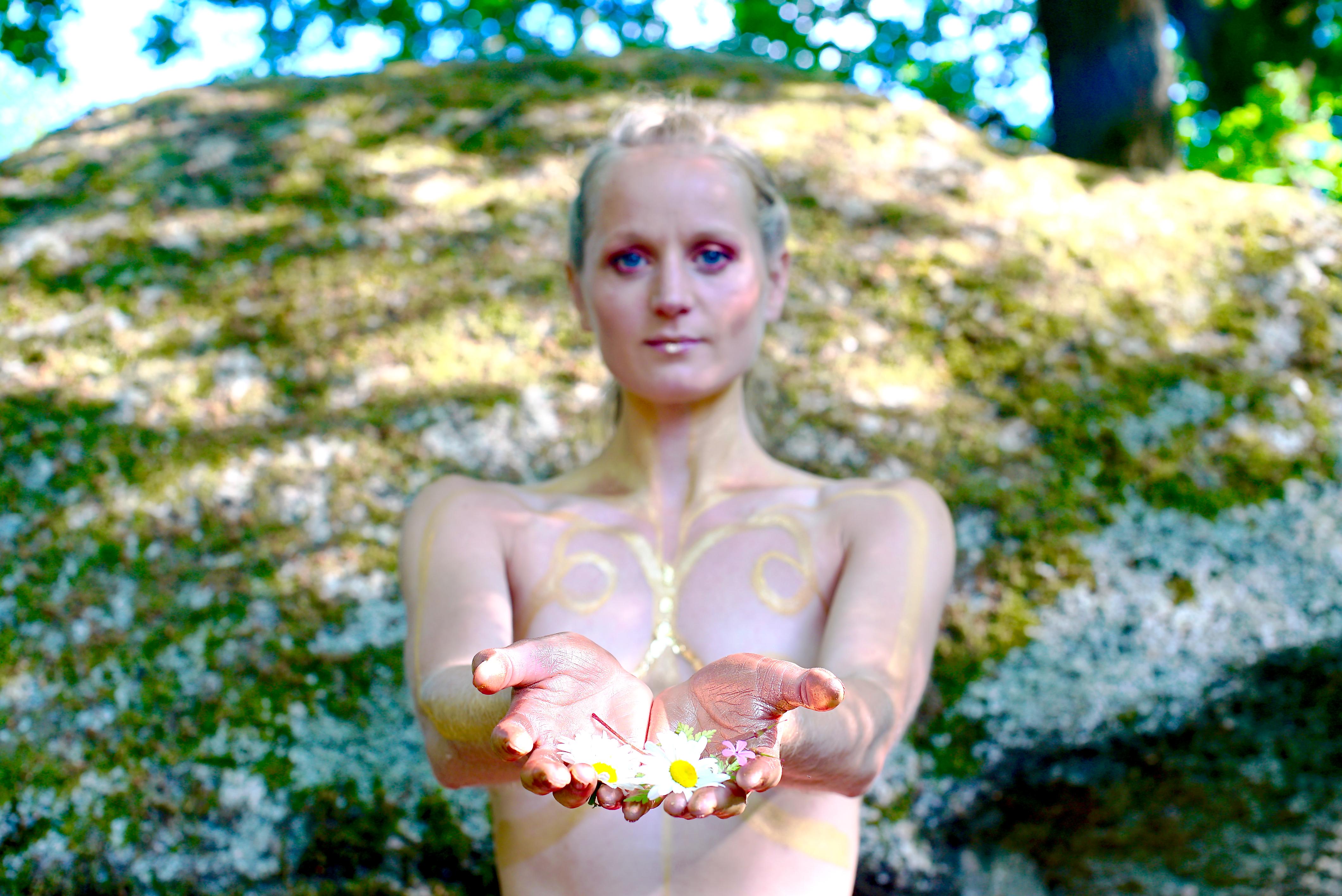 Lucia Peters Souldance Adriatica Bodyart Tanz Göttin